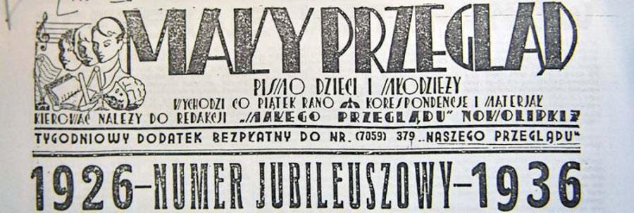 """""""Mały Przegląd"""", Stary Redaktor Korczak i dzieci"""