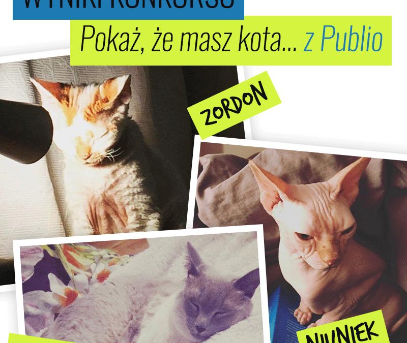 """Wyniki konkursu """"Mam kota z Publio"""""""
