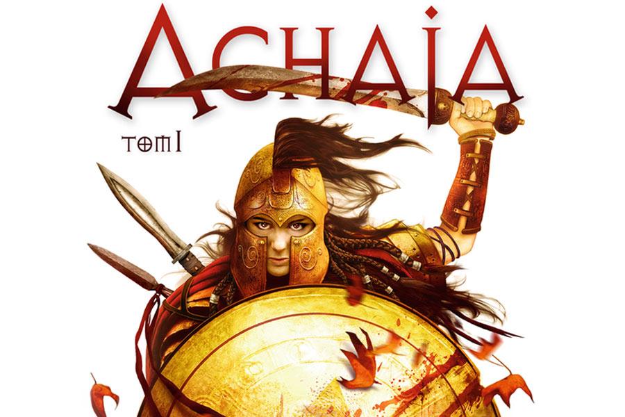 Miecze w dłoń: Krwawy i wyuzdany świat księżniczki Achai