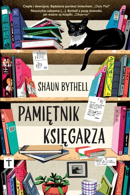 Okładka Pamiętnika księgarza Shauna Bythella