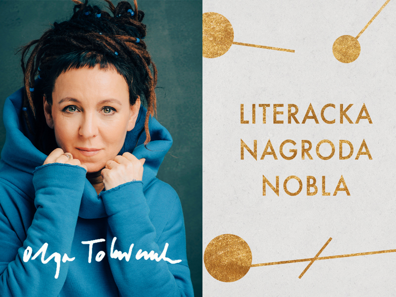 Książki Olgi Tokarczuk – noblistki! – już na listach bestsellerów