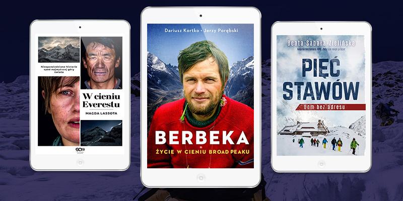 5 nowości, dla tych którzy czekają na książki o górach