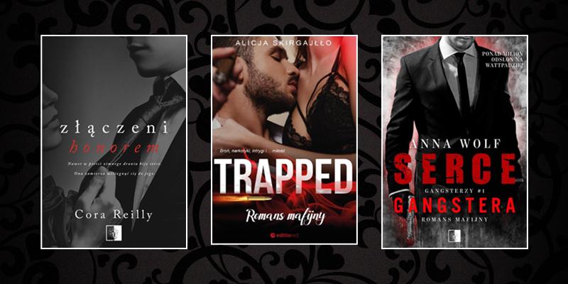Romanse mafijne – czyje książki czytacie najchętniej?