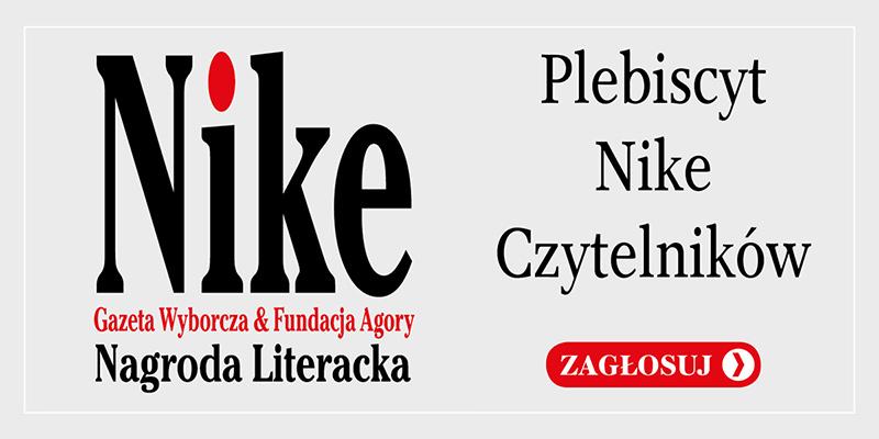 Zagłosuj na Nagrodę Nike Czytelników!