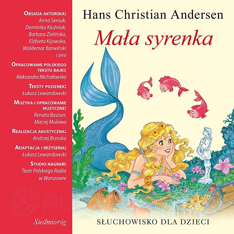 Mała Syrenka Hans Christian Andersen Bajki I Baśnie