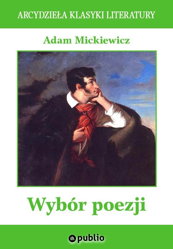 Wybór Poezji Adam Mickiewicz Ebook Epub Mobi