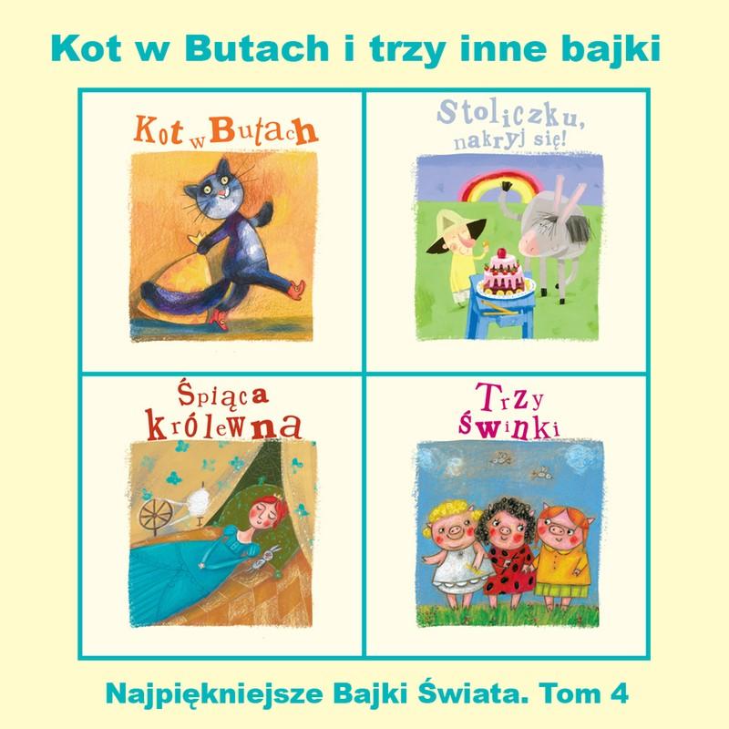 Kot W Butach I Trzy Inne Bajki Grzegorz Kasdepke Jarosław