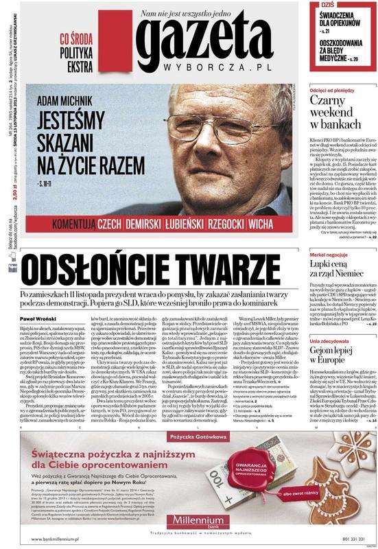 gazeta wyborcza pl: