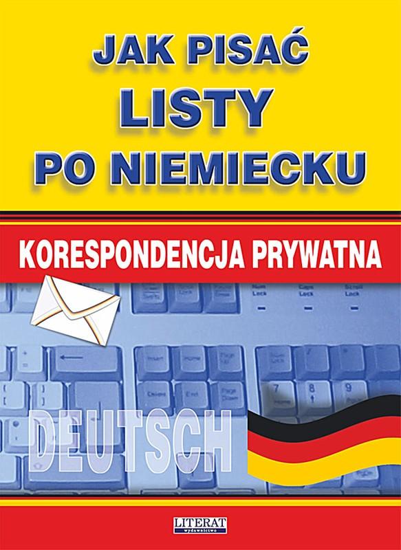 Jak Pisać Listy Po Niemiecku Ebook Pdf Księgarnia