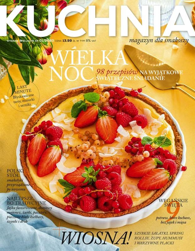 Kuchnia Magazyn Dla Smakoszy 1 2020 Pismo Nieperiodyczne Epub Mobi Pdf Eprasa Ksiegarnia Internetowa Publio Pl