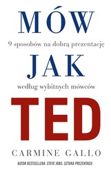 Mów jak Ted Carmine Gallo - ebook epub, mobi