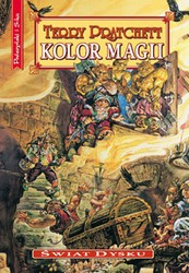 Kolor magii Terry Pratchett - ebook epub, mobi