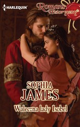 Waleczna lady Isobel Sophia James - ebook mobi, epub