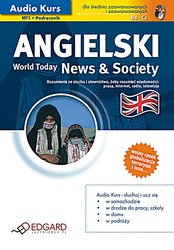 Angielski. News & Society - audiobook mp3, pdf