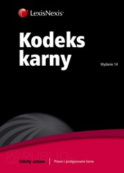 Kodeks karny 2013 - ebook pdf, epub