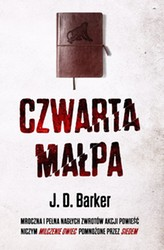 Czwarta małpa J. D. Barker - audiobook mp3