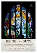 Being and Duty Jacek Jadacki - ebook mobi, epub