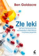 Złe leki Ben Goldacre - ebook epub, mobi