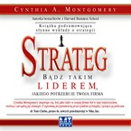 Strateg Cynthia A. Montgomery - audiobook mp3