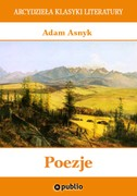 Poezje Adam Asnyk - ebook mobi, epub