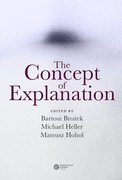 The Concept of Explanation - ebook epub, mobi