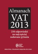 Almanach VAT 2013 - ebook pdf