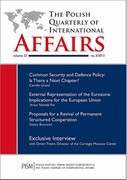 The Polish Quarterly of International Affairs 3/2013 - eprasa pdf