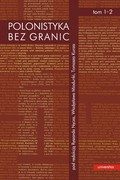 Polonistyka bez granic. Tom 1 i 2 - ebook pdf