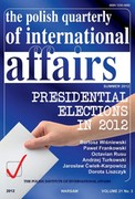 The Polish Quarterly of International Affairs 3/2012 - eprasa pdf