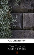 The Club of Queer Trades G.K. Chesterton - ebook mobi, epub