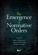 The Emergence of Normative Orders - ebook epub, mobi