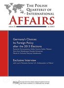 The Polish Quarterly of International Affairs 2/2013 - eprasa pdf, epub, mobi