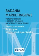 Badania marketingowe - ebook epub, mobi