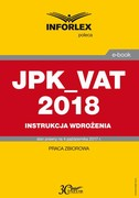 JPK_VAT 2018 - ebook pdf
