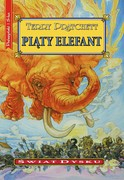Piąty elefant Terry Pratchett - ebook mobi, epub