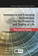 Innovations and Emerging Technologies for the Prosperity and Quality of Life Małgorzata Runiewicz-Wardyn - ebook epub, mobi
