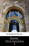 Bank Nucingena Honoriusz Balzak - ebook mobi, epub