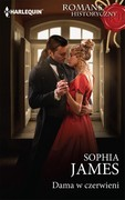 Dama w czerwieni Sophia James - ebook mobi, epub