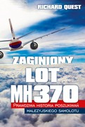 Zaginiony lot MH370 Richard Quest - ebook mobi, epub