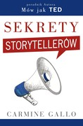 Sekrety storytellerów Carmine Gallo - ebook epub, mobi