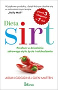 Dieta SIRT Aidan Goggins - ebook epub, mobi