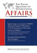 The Polish Quarterly of International Affairs 1/2013 - eprasa pdf, epub, mobi