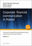 Corporate financial communication in Poland Karol Marek Klimczak - ebook mobi, epub, pdf