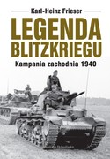 Legenda blitzkriegu Karl-Heinz Frieser - ebook epub, mobi
