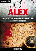 Zmącony spokój Pani Labiryntu Joe Alex - audiobook mp3