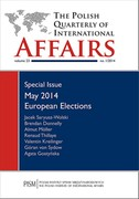 The Polish Quarterly of International Affairs 1/2014 - eprasa pdf, epub, mobi