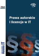 Prawa autorskie i licencje w IT - ebook epub, pdf
