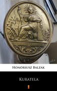 Kuratela Honoriusz Balzak - ebook mobi, epub