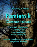 Pamiętnik (Commonitorium)  Wincenty z Lerynu - ebook mobi, epub