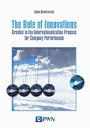 The Role of Innovations Adam Dymitrowski - ebook mobi, epub